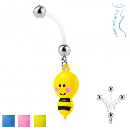 Piercing nombril grossesse abeille