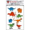 Tatouage enfant Dinosaures