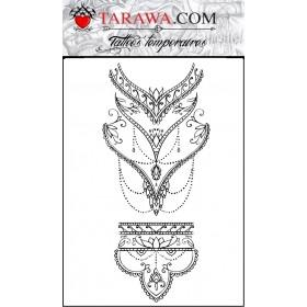 Tattoo mandala femme