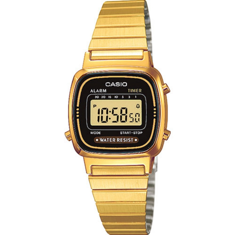Montre Mixte Casio Collection LA670WEGA Tarawa Piercing  lCmgu