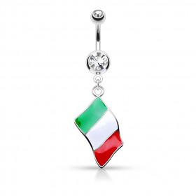 Piercing nombril Italie