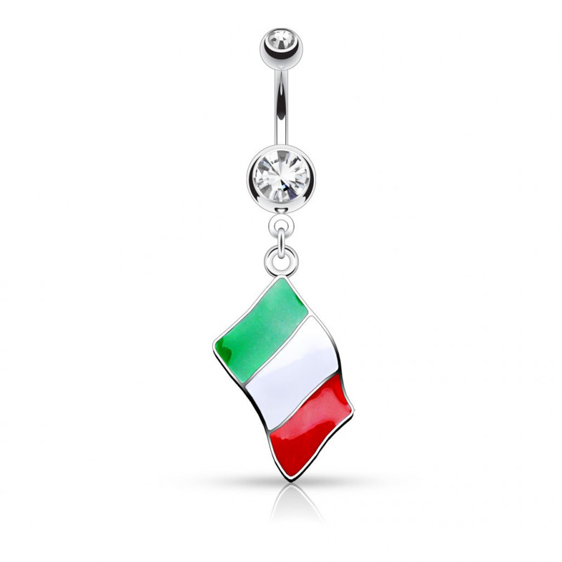 Piercing nombril Italie