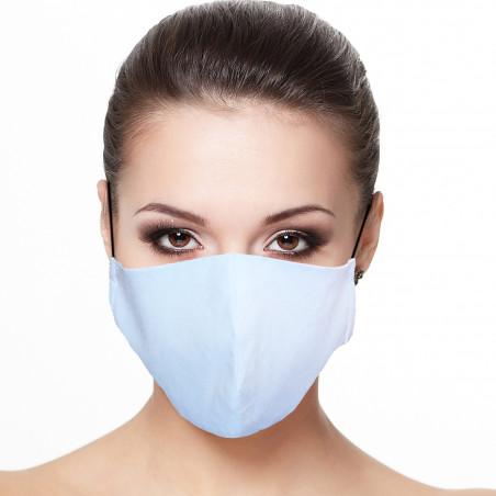 Masque Facial doublé réutilisable en tissu