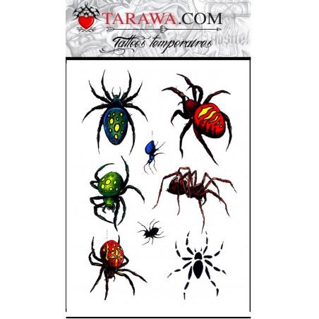 Tattoo Araignée autocollant