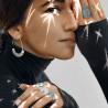 Bague fine collection été femme en argent sertie d'une Turquoise ovale