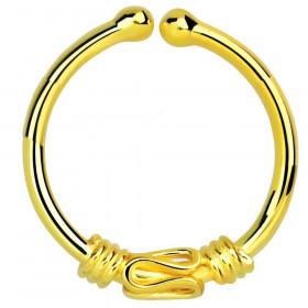 Faux piercing anneau dosé ethnique