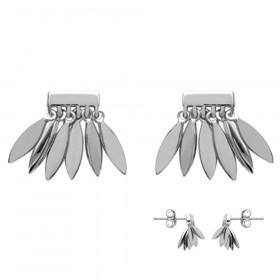 Boucles d'oreilles en Argent 925 avec Pampilles