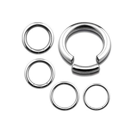 Piercing Anneau segment gros diamètre acier