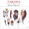 Planche tatouage temporaire couleur aigle plume indien attrape rêve amérendien de la marque tarawa