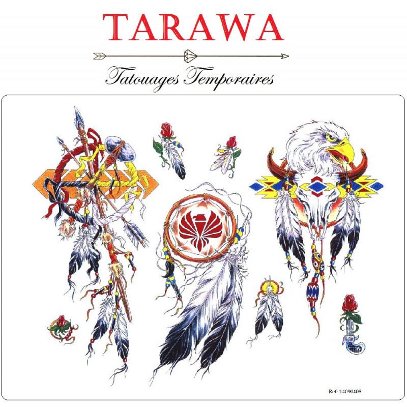 Tatouage temporaire Attrape rêves indien