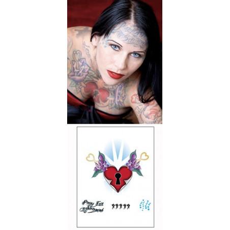 Michelle Mcghee Tattoos temporaires Coeur