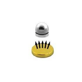 Faux piercing magnétique couleur acier boule acier piercing labret net oreille