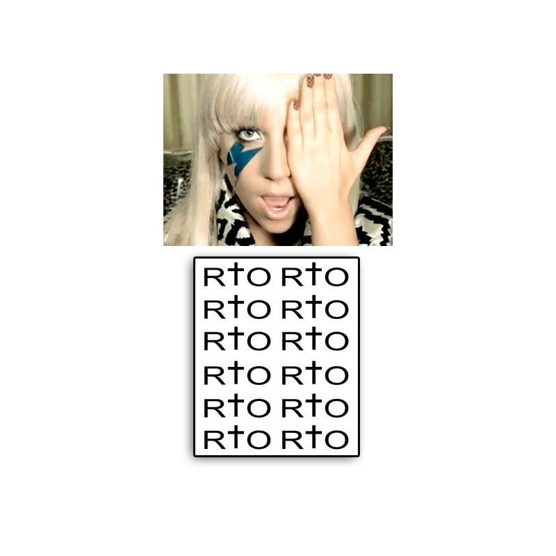Lady Gaga Tattoo RIO