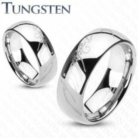 Bague anneau homme en Tungstène écriture Elfique le seigneur des anneaux