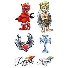 Tattoo Angel Devil