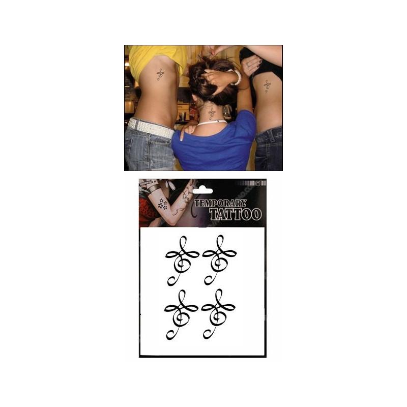 Tatouages Temporaires Zibu symbole de la vie
