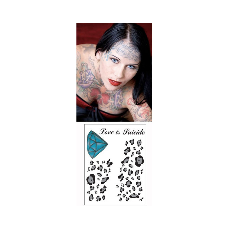 Michelle Mcghee Tattoos temporaires
