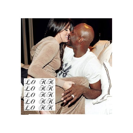 Tatouages d'amour des stars Khloe Kardashian et Lamar