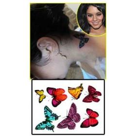 Vanessa Hudgens Tattoos temporaires