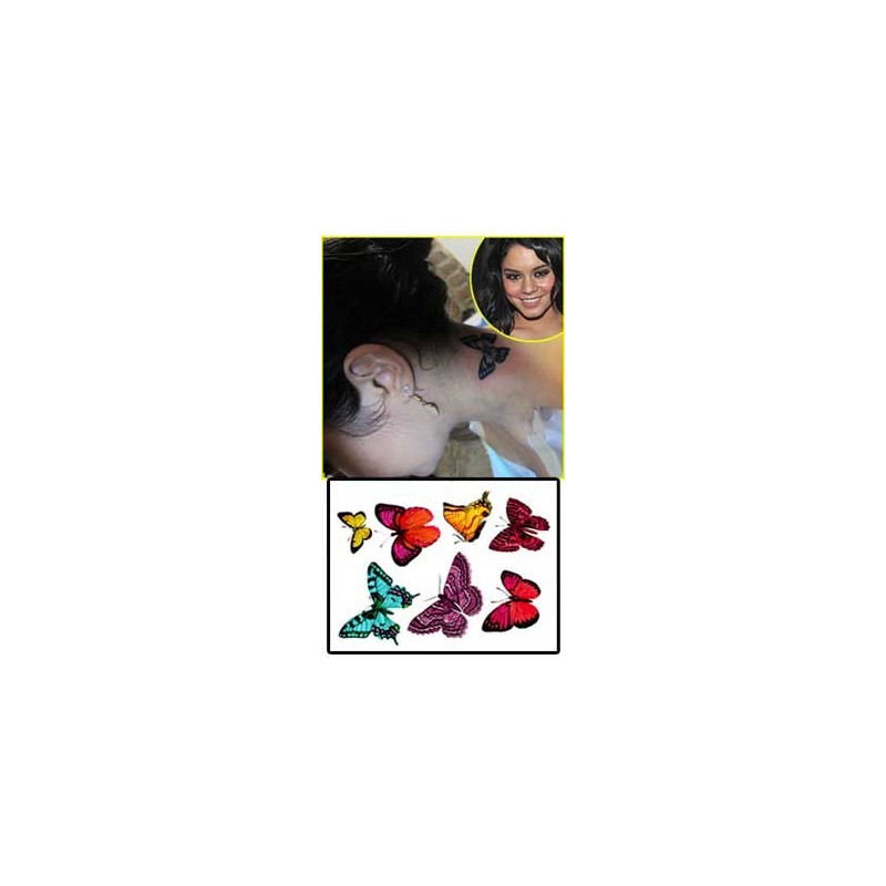 Vanessa Hudgens Tattoos temporaires
