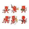 Tatouage Autocollant Diable