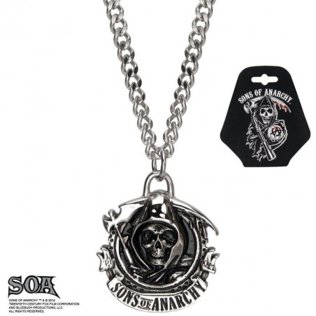 Collier homme Sons of Anarchy en inox