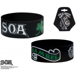 Bracelet silicone Sons of anarchy Sambel