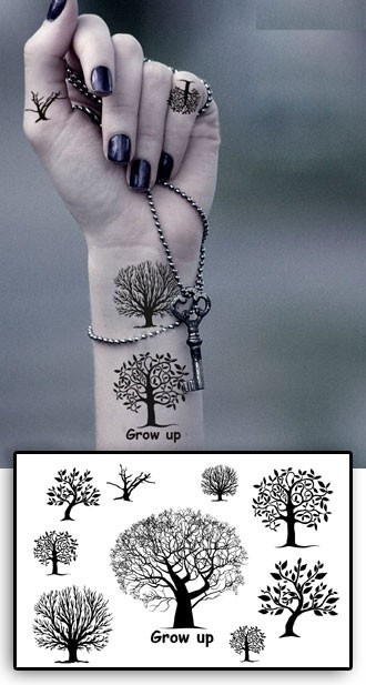 tatouage arbre amazing tatouage darbre pour patricia. Black Bedroom Furniture Sets. Home Design Ideas