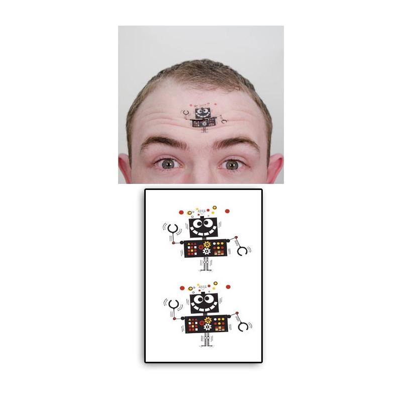 Tatouages Temporaires Robot