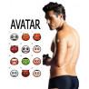 Tatouages temporaires Avatar
