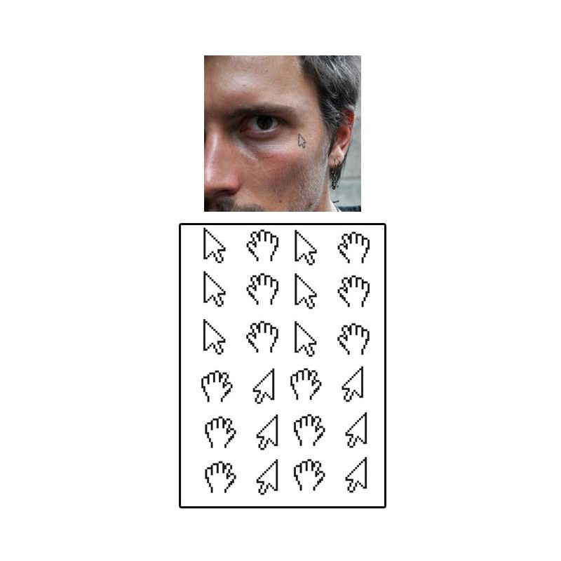 Tatouages temporaires Curseur