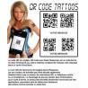 QR code Tattoos personalisé