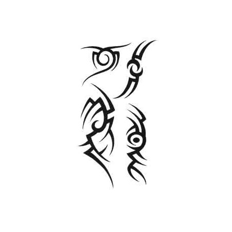 Tattoo autocollant Tribal