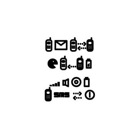 Tattoo Logo SMS autocollant