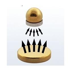 Faux piercing magnétique couleur Or