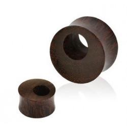 Piercing Plug oreille en Bois Tamarin