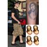 Justin Bieber tattoos jesus
