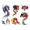 Tattoos temporaires Dragons