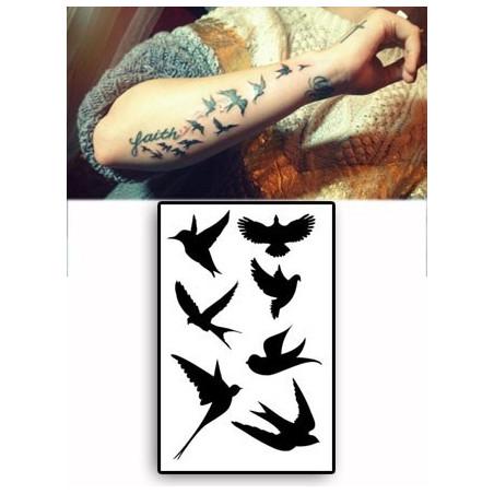 Demi Lovato Tattoos Oiseaux