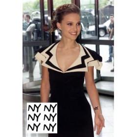 Nathalie Portman tattoos New york