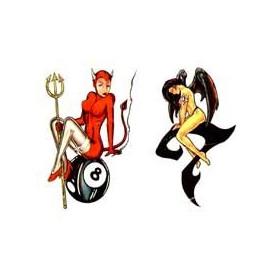 Tatouage autocollant Fée et Elfe