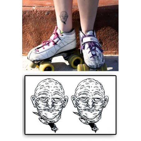 Tattoos temporaires Tete coupee