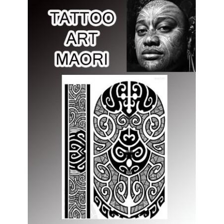 Tatouages temporaires Maori Polynesiens