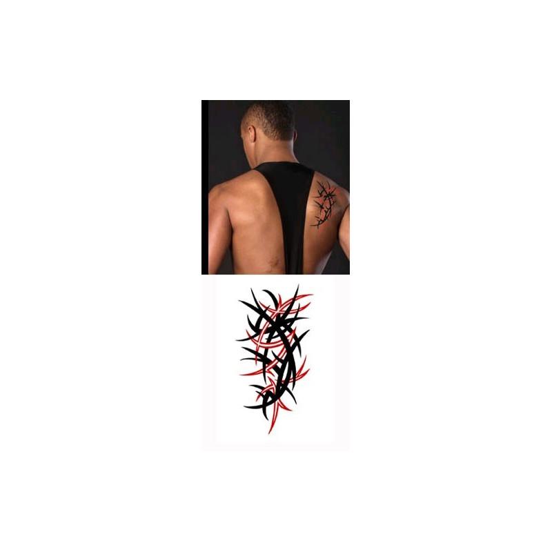 Tatouages Temporaires Tribal 2 couleurs 02