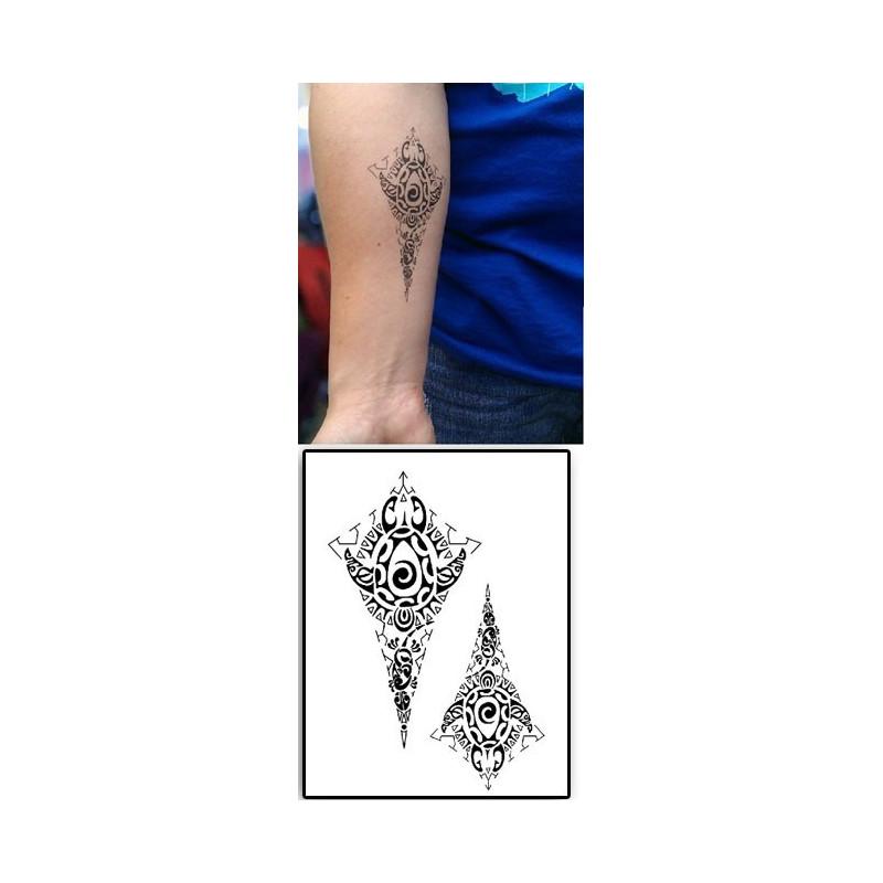 Tattoos temporaires Infiny Maori Polynesiens