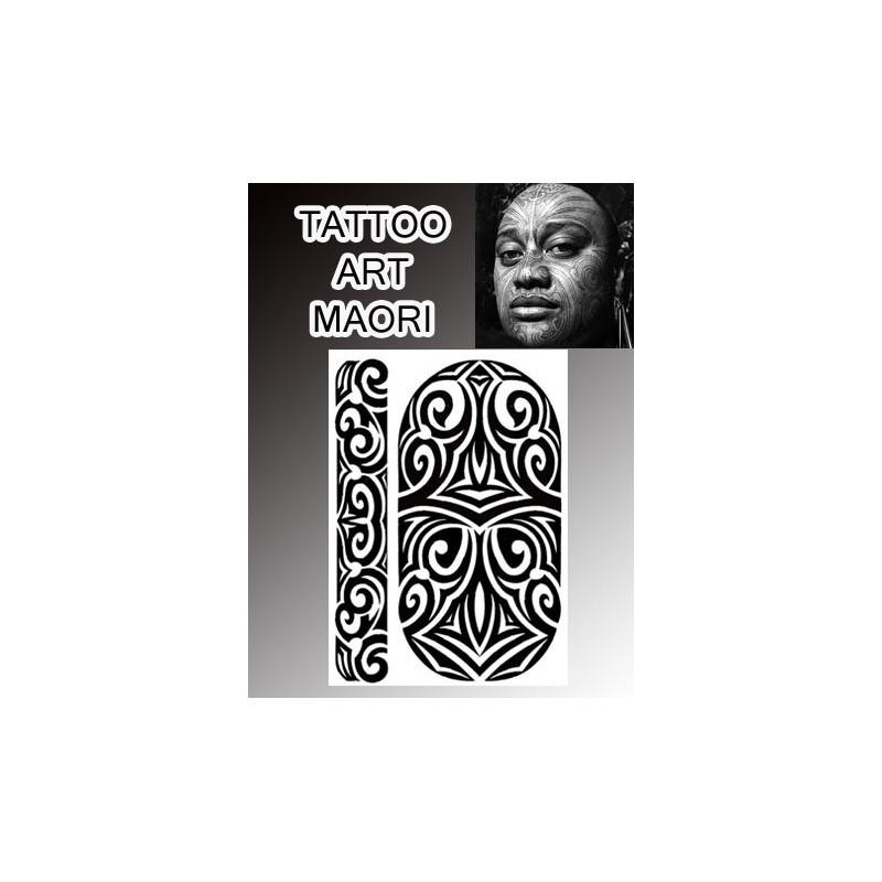 Tatouages temporaires no2 Maori Polynesiens