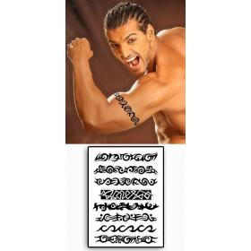Tatouages 8 Bracelets Tribal temporaires no.58
