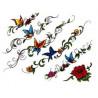 Tatouage Papillon bas de dos et bracelet