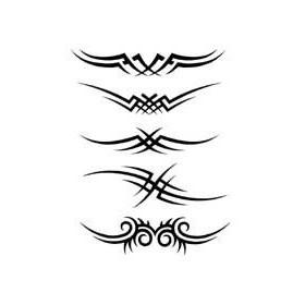 Tatouage autocollant Tribal