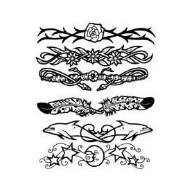 Tattoo autocollant bracelet